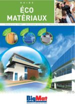 Guides et conseils BigMat : Guide éco matériaux