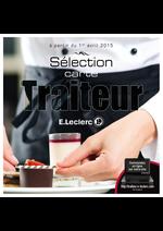 Catalogues et collections E.Leclerc : Sélection carte traiteur