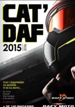 Catalogues et collections Dafy moto : Le Cat' Daf 2015-2016