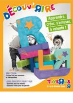 Guides et conseils Toys R Us : Découvrez : le guide 2015 apprendre, créer, s'amuser à volonté !