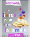Des livres pour toute la famille à partir de 1,50€