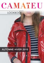 Catalogues et collections Camaieu : Feuilletez le lookbook automne hiver 2015