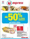 Prospectus U Express REDON : Jusqu'à -50% de remise immédiate