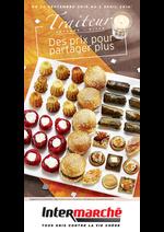 Prospectus Intermarché Contact : Traiteur automne hiver : Des prix pour partager plus