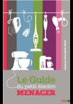 Catalogues et collections Pulsat : Automne Hiver 2016 : Le Guide du petit électroménager