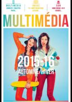 Catalogues et collections Compétence : Guide Multimédia Automne Hiver 2015-16