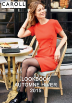 Catalogues et collections Caroll : Feuilletez le lookbook automne hiver 2015