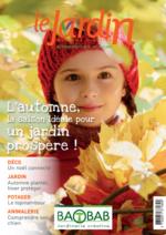 Journaux et magazines Baobab : L'automne, la saison idéale pour un jardin prospère !