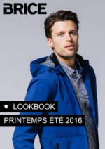 Catalogues et collections Brice : Les nouveaux looks du printemps