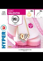 Prospectus Hyper U : Saint Valentin