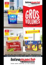 Prospectus Intermarché Super : Gros volume : en gros, c'est moins cher !