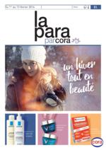 Prospectus Cora : La Para par Cora : un hiver tout en beauté