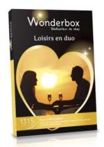 Catalogues et collections FNAC : Coffret cadeau Wonderbox Loisirs en duo à 49,90€