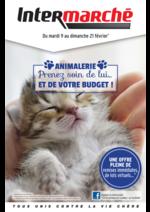 Prospectus Intermarché Super : Animalerie : prenez soin de lui ... et de votre budget !