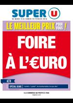 Prospectus Super U : Foire à l'€uro