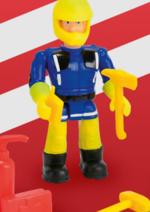 Promos et remises dreamland : -15% sur les figurines et sets de jeu Sam le Pompier