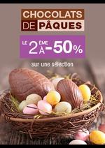Bons Plans Monoprix : Chocolats de Pâques; le 2ème à -50%