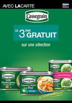 Bons Plans Monoprix : Cassegrain, le 3ème gratuit avec la carte