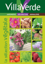 Journaux et magazines Villaverde : La sélection végétale