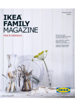 Catalogues et collections IKEA : IKEA Family Magazine printemps 2016