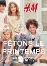 Catalogues et collections H&M : Le lookbook enfant Fêtons le printemps
