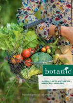 Catalogues et collections Botanic : Le catalogue printemps été 2016