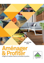 Catalogues et collections Leroy Merlin : Le Jardin : Aménager & Profiter collection 2016