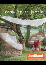 Promos et remises  : La collection mobilier de jardin 2016