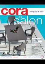 Prospectus Cora : Un salon au soleil
