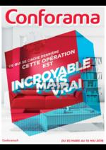 Prospectus Conforama : Ce qui se cache derrière cette opération est incroyable mais vrai