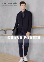 Catalogues et collections Lacoste : Lookbook Grand Podium