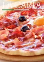 Menus Pizza paï : La carte