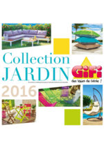 Catalogues et collections Gifi : Collection Jardin 2016