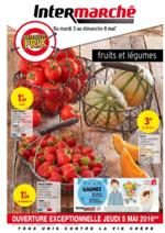 Prospectus Intermarché Super : Spécial fruits et légumes