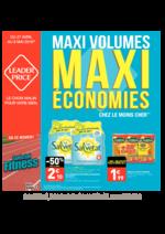 Promos et remises  : Maxi volumes maxi économies