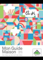 Promos et remises  : Et si ... Mon guide Maison printemps 2016