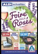 Prospectus Aldi Dorlisheim : Foire aux rosés