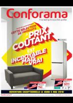 Prospectus Conforama : Ce qui se cache derrière cette sélection de produits à prix coûtant est incroyable mais vrai