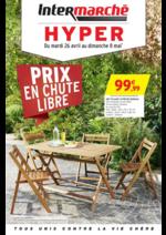 Prospectus Intermarché Hyper : Prix en chute libre