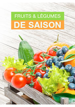 Catalogues et collections Monoprix : Fruits & légumes de saison