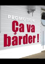 Promos et remises Gedimat : Promotion Ça va barder !
