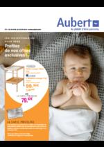 Prospectus Aubert : Les indispensables pour bébé