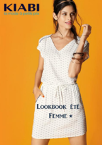 Catalogues et collections Kiabi : Lookbook été femme