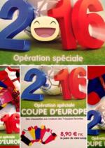 Promos et remises  : Opération coupe d'Europe