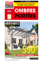 Prospectus Brico Dépôt : Ombres portées
