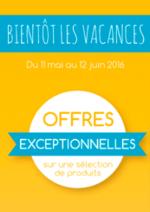 Promos et remises  : Bientôt les vacances : offres EXCEPTIONNELLES