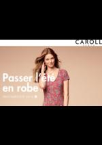 Catalogues et collections Caroll : Lookbokk Passer l'été en robe Printemps-Été 2016