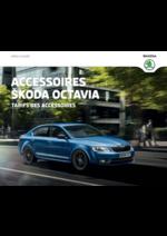 Catalogues et collections Skoda : Le tarif des accessoires Skoda Octavia