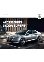 Catalogues et collections Skoda : Accessoires Skoda Superb