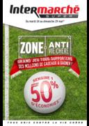 Prospectus Intermarché Super Maintenon : Zone anti vie chère